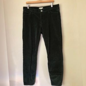 Banana Republic Stretch Skinny Fit Gr Velvet Pants